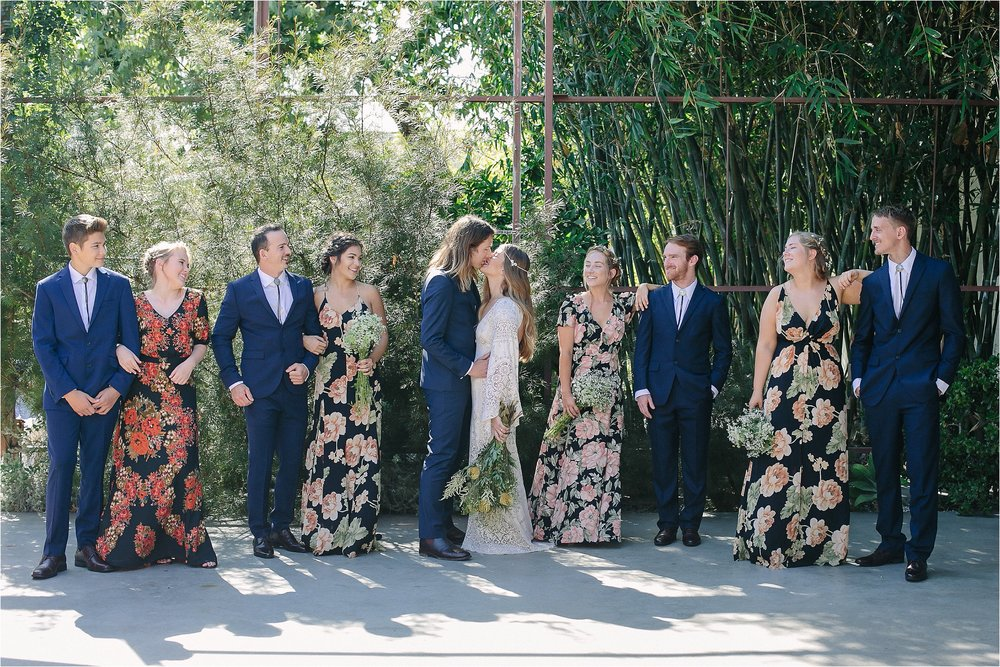 Bridal Party Magic Hour Portraits