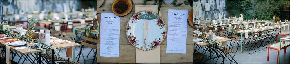 Reception Place Setting Photo