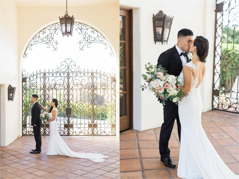 Romantic Spanish Villa Wedding | Hummingbird Nest Ranch | Mike & Kim