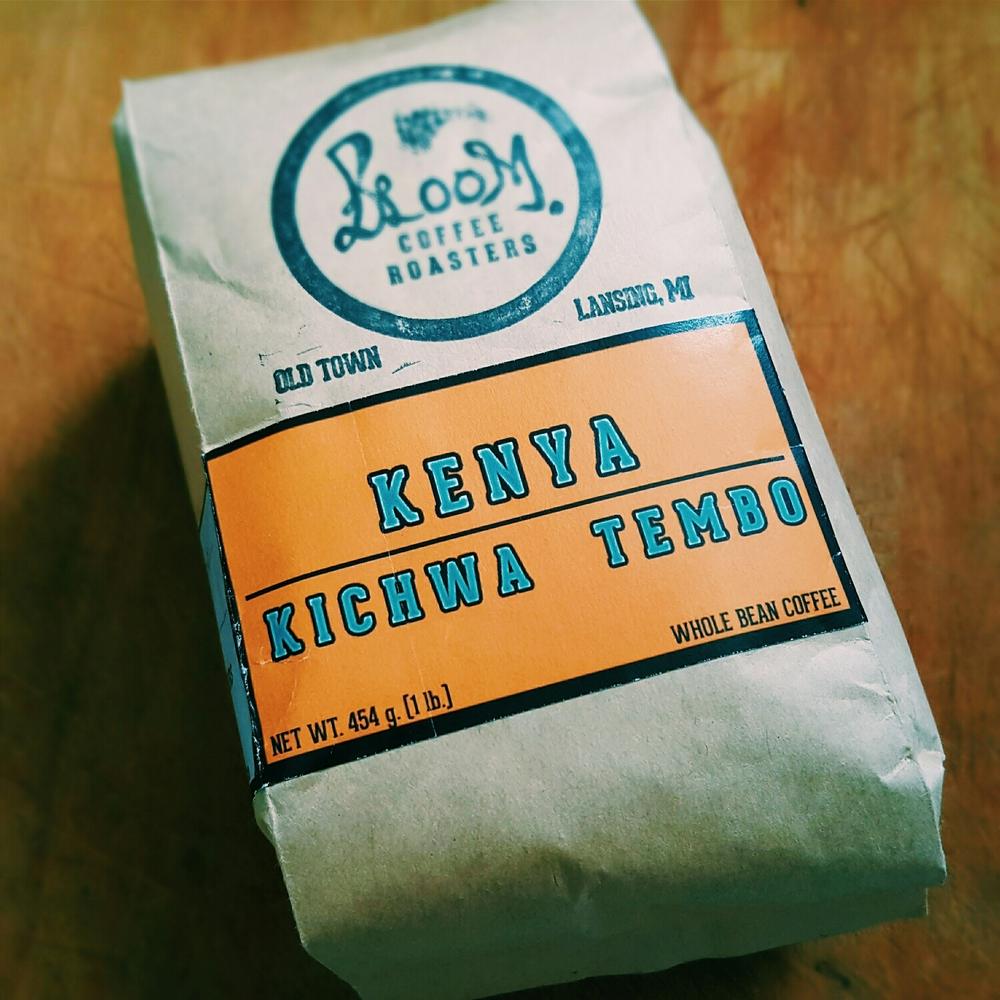 Coffee from Kenya rocks!