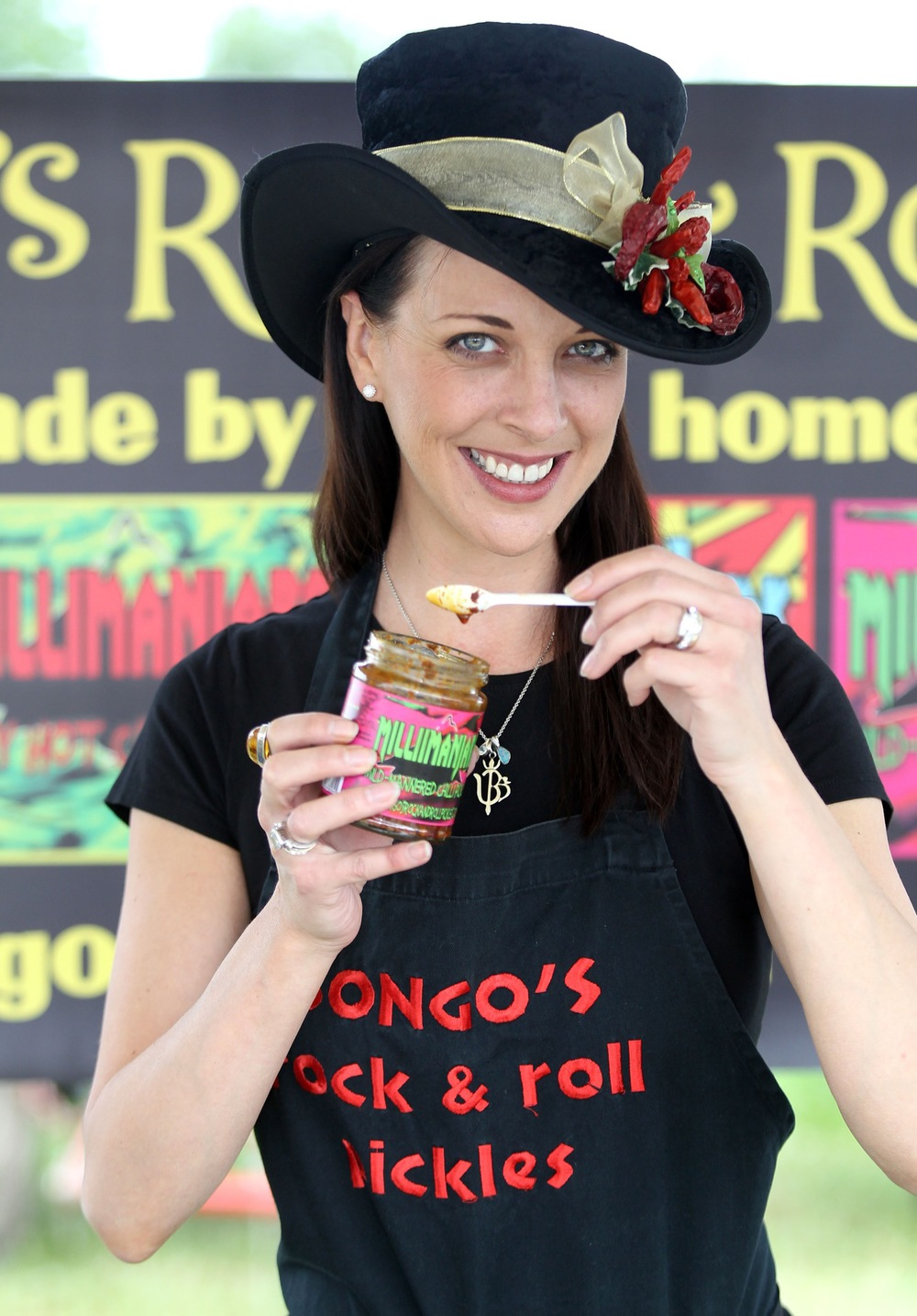 Deborah Bouchard from Bongo's Rock & roll Chilli Pickles
