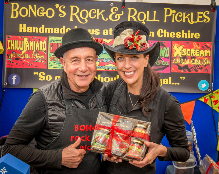 Bongo's Rock & Roll Chilli Pickles