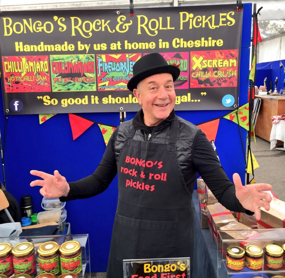 Bongo on the stall!