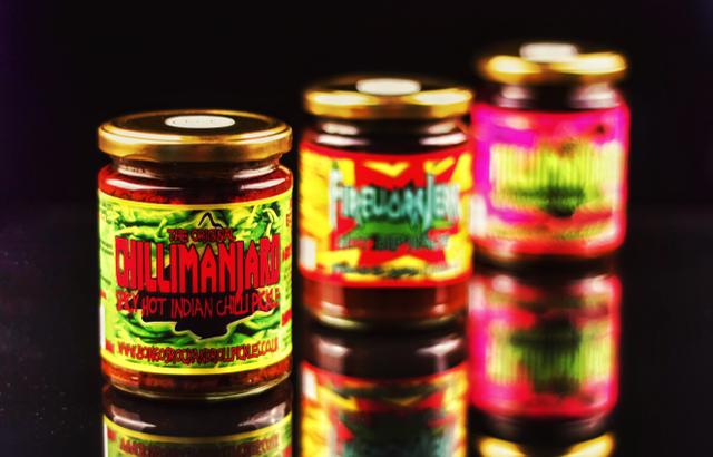 Chillimanjaro Bongos Rock & roll Chilli Pickles