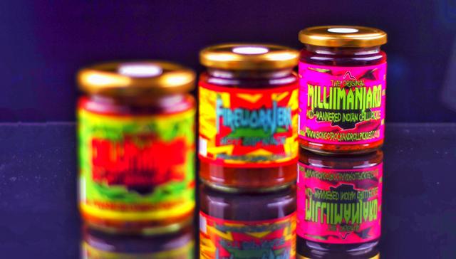Millimanjaro - Bongo's Rock & Roll Chilli Pickles