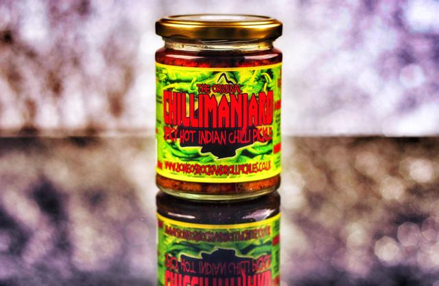 Chillimanjaro - Bongo's Rock & Roll Chilli Pickles