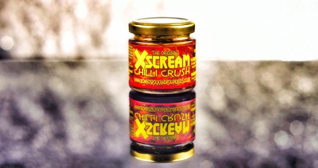 XScream Chilli Crush - Bongo's Rock & Roll Chilli Pickles