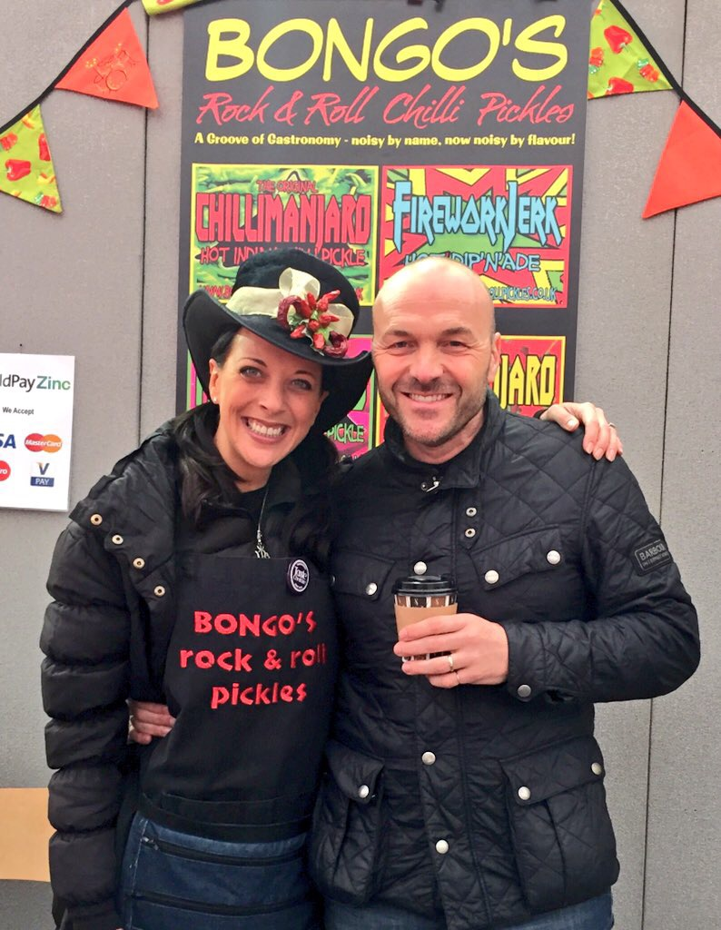 Bongo's Rock & Roll Pickles with Simon Rimmer