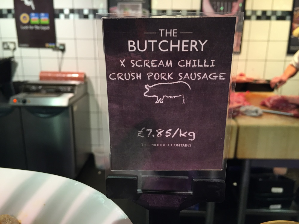 Announcing X-Scream Chilli Crush Sausages