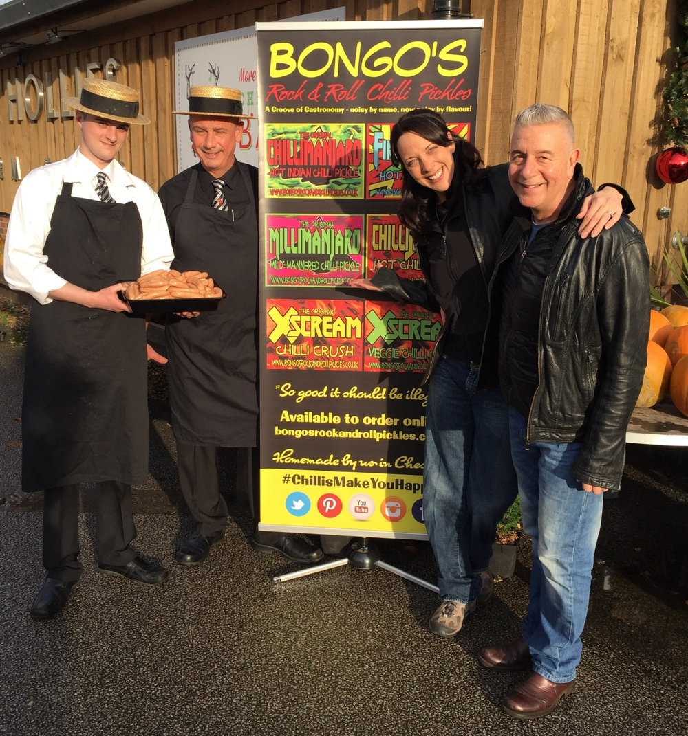 Andrew, Dale and Bongo's