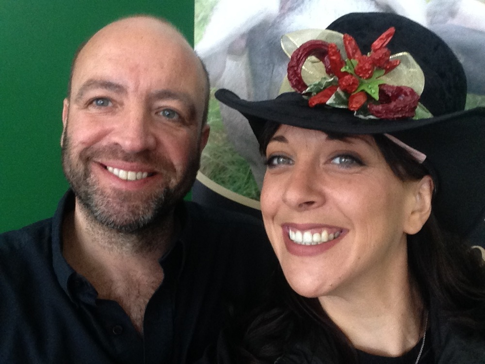 Mrs Bongo with Mike at an Plassey Market last year!