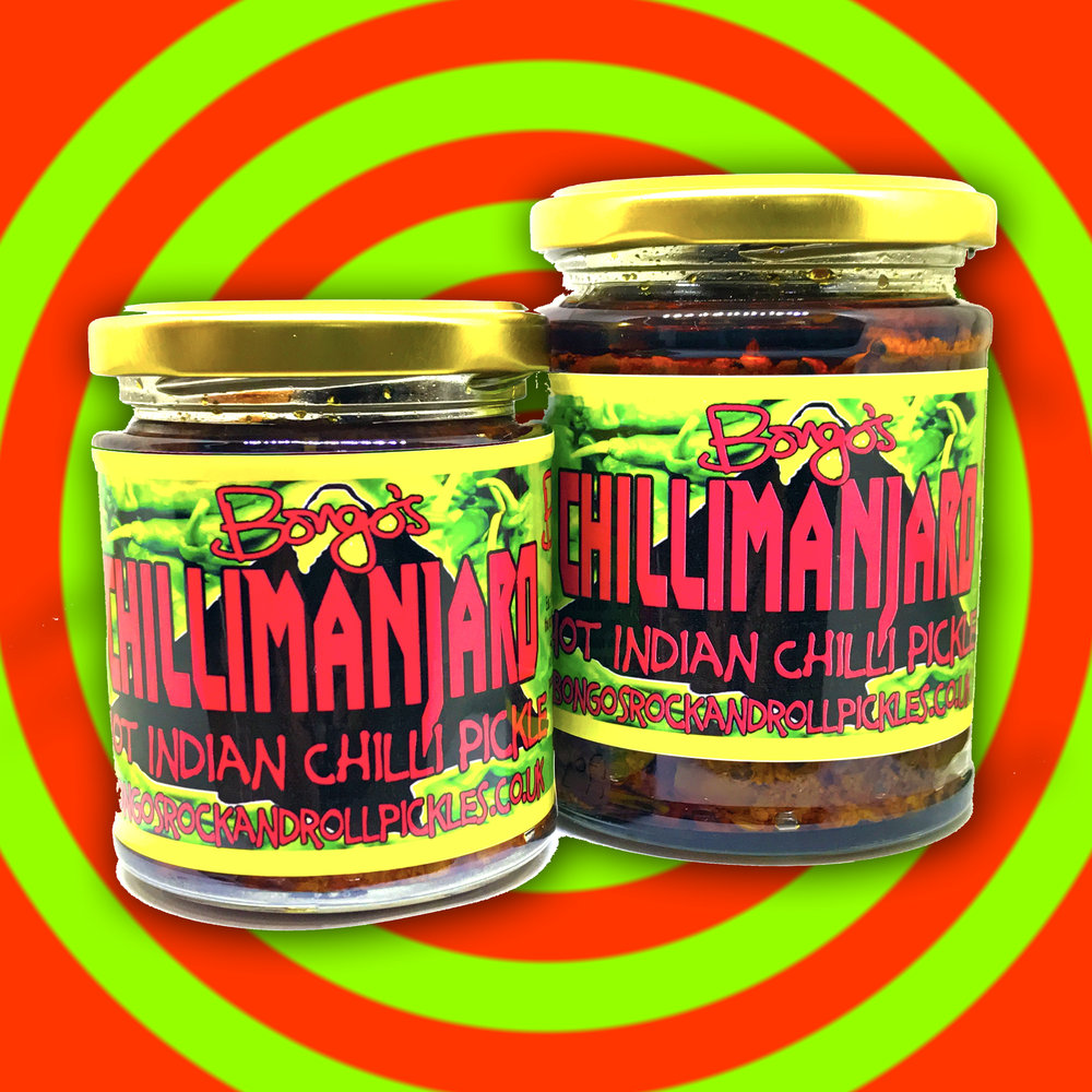 Get your reg or large jar of our bestselling Chilli Pickle