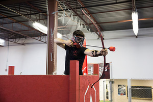 Archery-Tag-Toronto-battle archery sniper tower