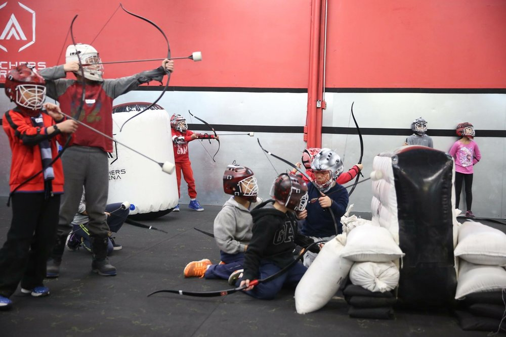 Combat Archery, Archery Tag, Camp, Archery Dodgeball kids