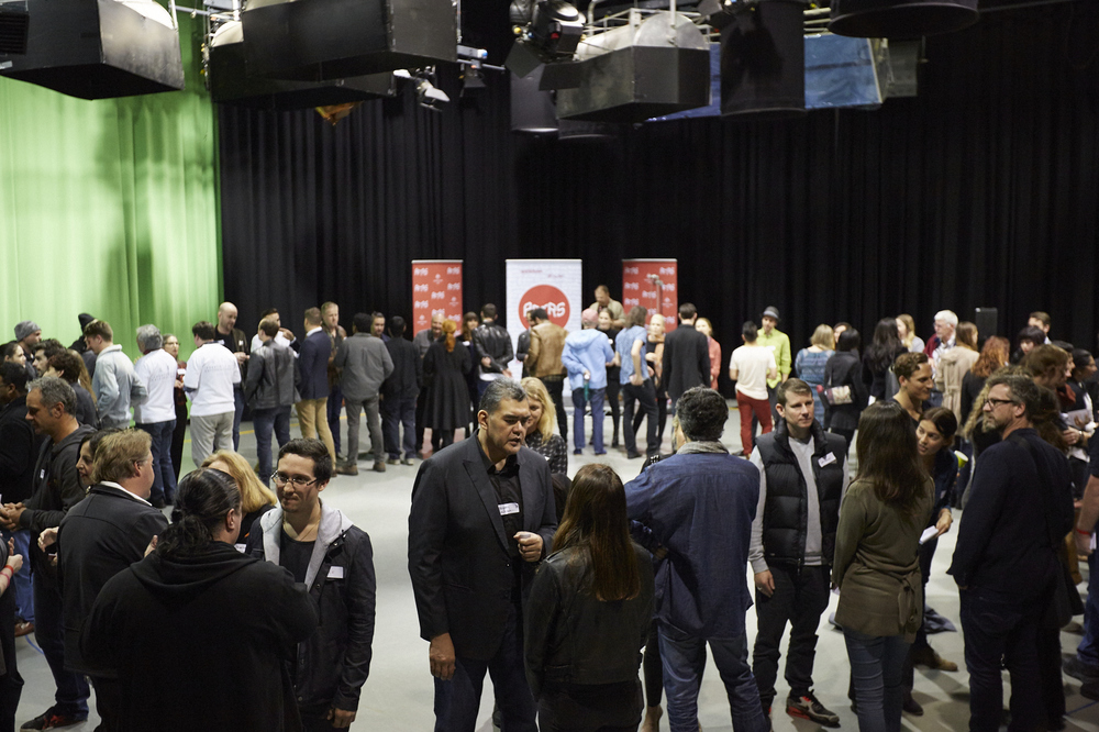 Speed Networking at AFTRS, Vivid Ideas 2016