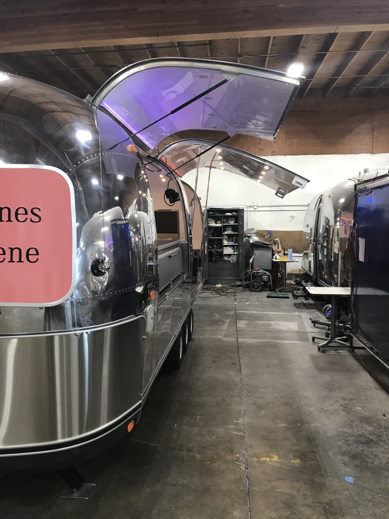 Custom Airstream tasting room
