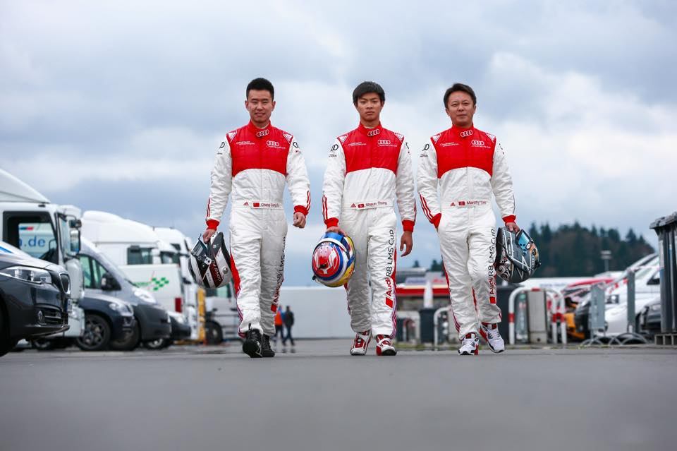 Franky Cheng, Shaun Thong, and Marchy Lee
