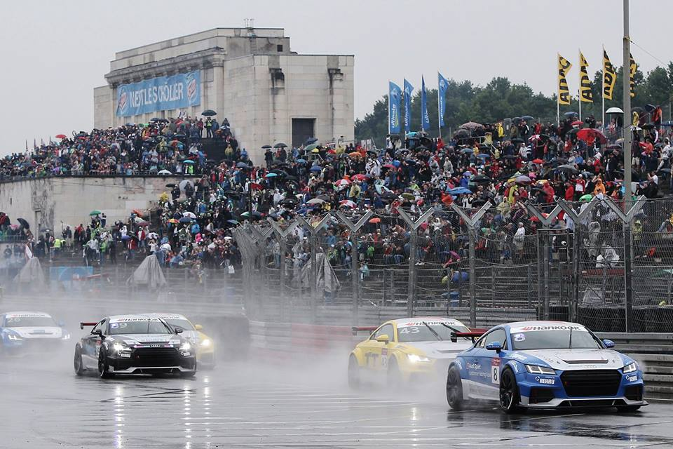 Double pole and a win in Race 1 for Shaun in Norisring