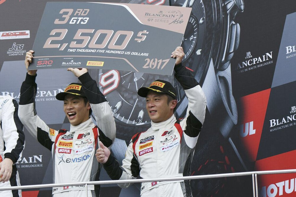 """Early April in Malaysia marked Shaun Thong's return to competition at the wheel of an Audi R8 LMS GT3, the 21-year old GT Asia Series Pro-Am Cup champion rejoining Phoenix Racing Asia and Audi Hong Kong alongside experienced veteran Marchy Lee for the maiden season of the new Blancpain GT Series Asia. Fast in practice, the two Audi drivers were consistently amongst the top teams fighting for a podium result in Malaysia, and despite some tough challenges across the weekend, Thong delivered, taking he and Lee to two top five finishes including third in race two - in the process grabbing a share of third place in the championship points after two of 12 races. For season 2017, whilst the championship is different, so too is Shaun Thong's direction, the Hong Kong resident turning full-time to motorsport as an official driver for Audi Hong Kong, his sole focus for the season - winning races - and Malaysia was the first step towards that goal. """"I've been dreaming about the day I could become a full-time professional racing driver, and now that it's happened, I'm so glad it is with Audi, and more importantly for me, Audi Hong Kong. """"Blancpain GT Series Asia was a great platform for me to continue my second season with Phoenix Racing Asia, with a number of very experienced teams and factory drivers coming into the Series from Europe. """"Almost immediately we were amongst the fastest cars in the field through unofficial testing and then when official practice began. As we did last year, Marchy qualified first, largely amongst the amateur drivers, whilst I went into the session which was largely filled with professional drivers. Eleventh place was okay, but as a racing driver, I wanted to be at the front of the field, that said if I'd qualified in the first group, I would have been P3..! """"Because of our ranking as 'silver' drivers, our car - like that of the other silver-silver combinations - has to carry an extra 25-kilograms of ballast, so I was knocking myself out comparing m"""