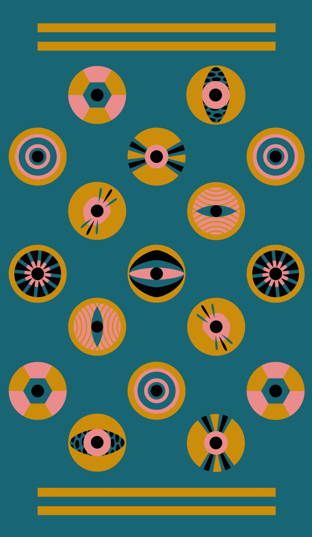 pattern designed for socks