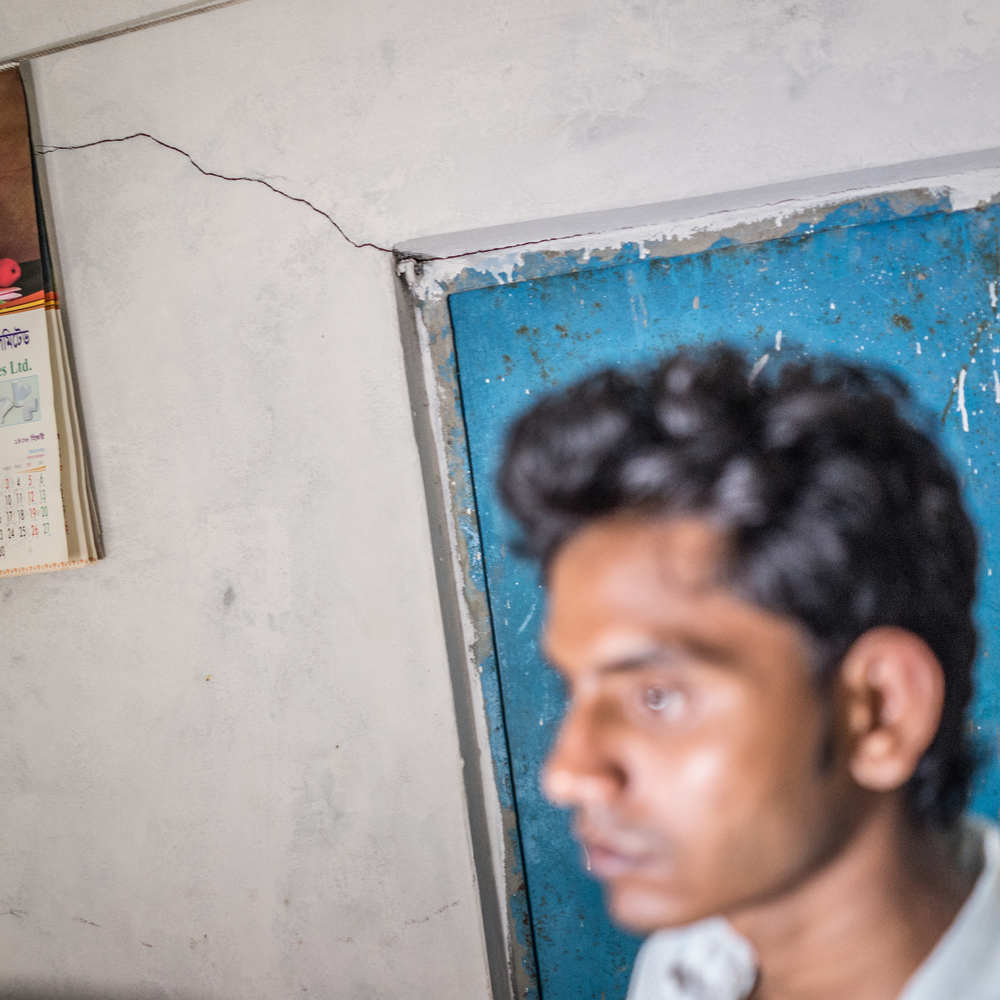 Raihan Kabir ruefully reflects on the stark differences in his life before and after the Rana Plaza collapse.