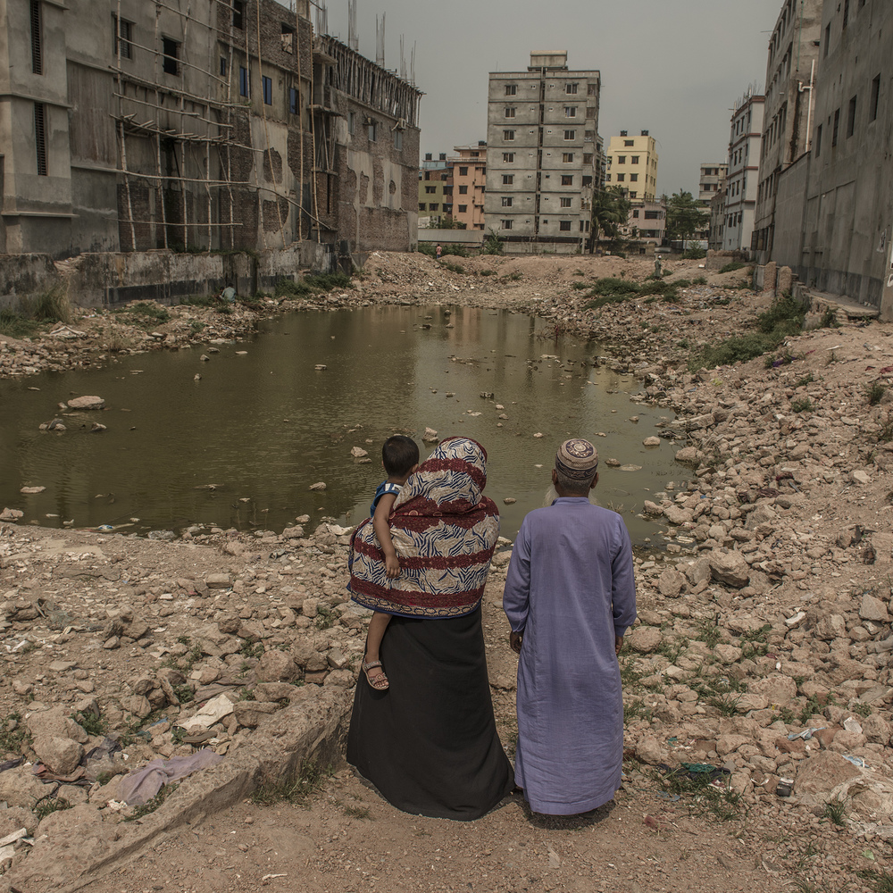 Whenever Rahela Begum and Fajlul Haq Khan return to the site of Rana Plaza, the hole in the physical space where the building used to be is reflective of the hole in their hearts from losing their son