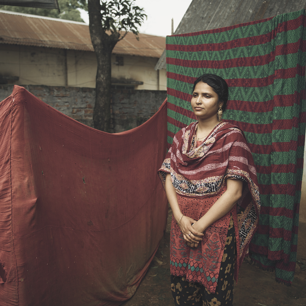 Afroza Akhter Eti, 23 years old, worked as a female volunteer during the Rana Plaza collapse