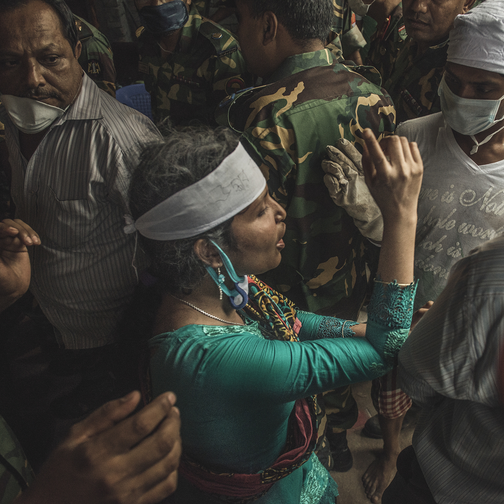 Afroza Akhter Eti worked bravely to rescue many while being one of the few female volunteers at the Rana Plaza site.