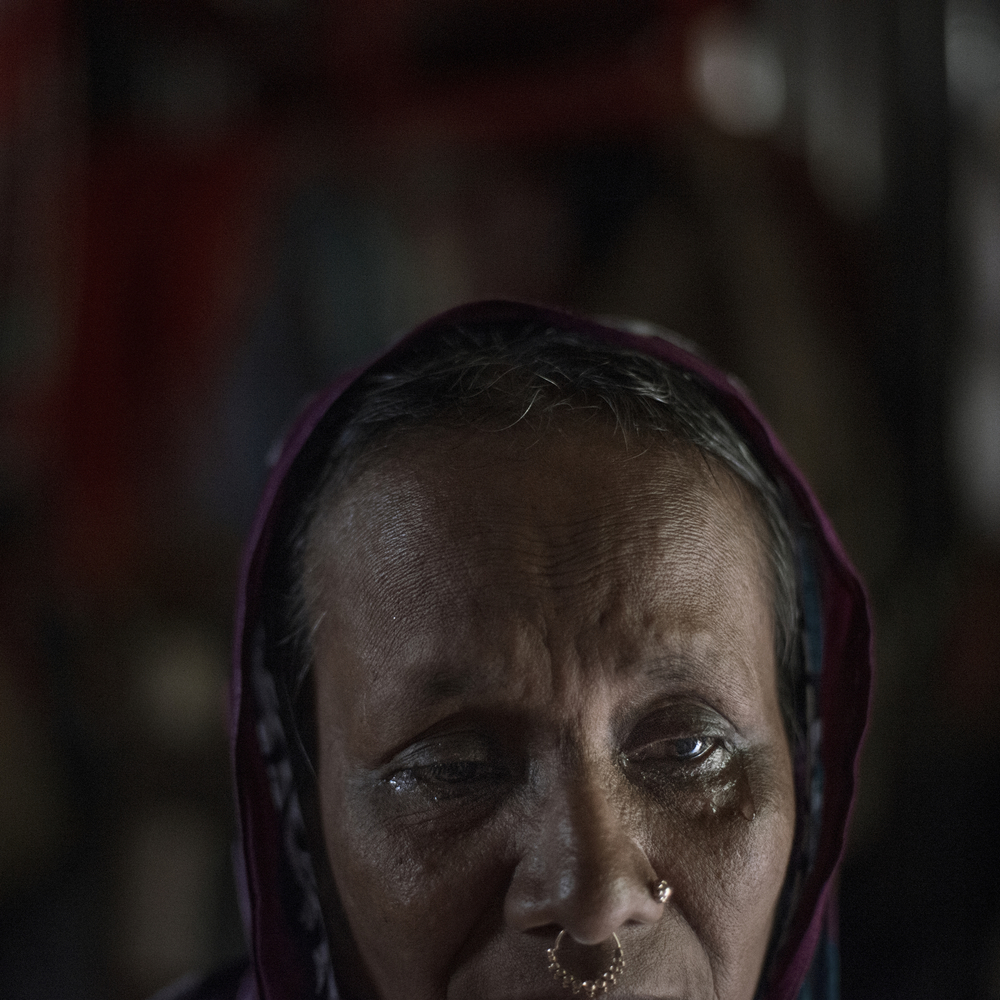 Sufia Khantun feels helpless, as she does not how to help her daughter Mahinur