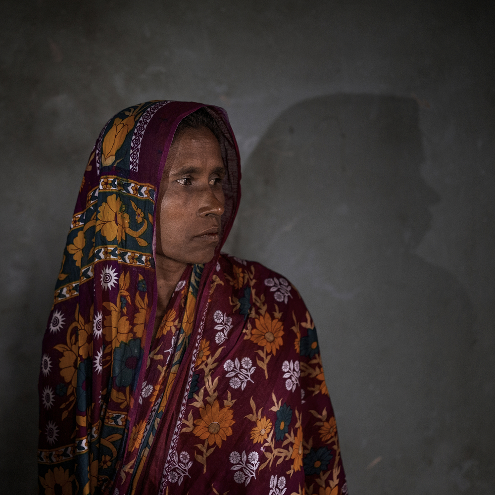 Samina Begum is a victim of Rana plaza tragedy where she lost her daughter