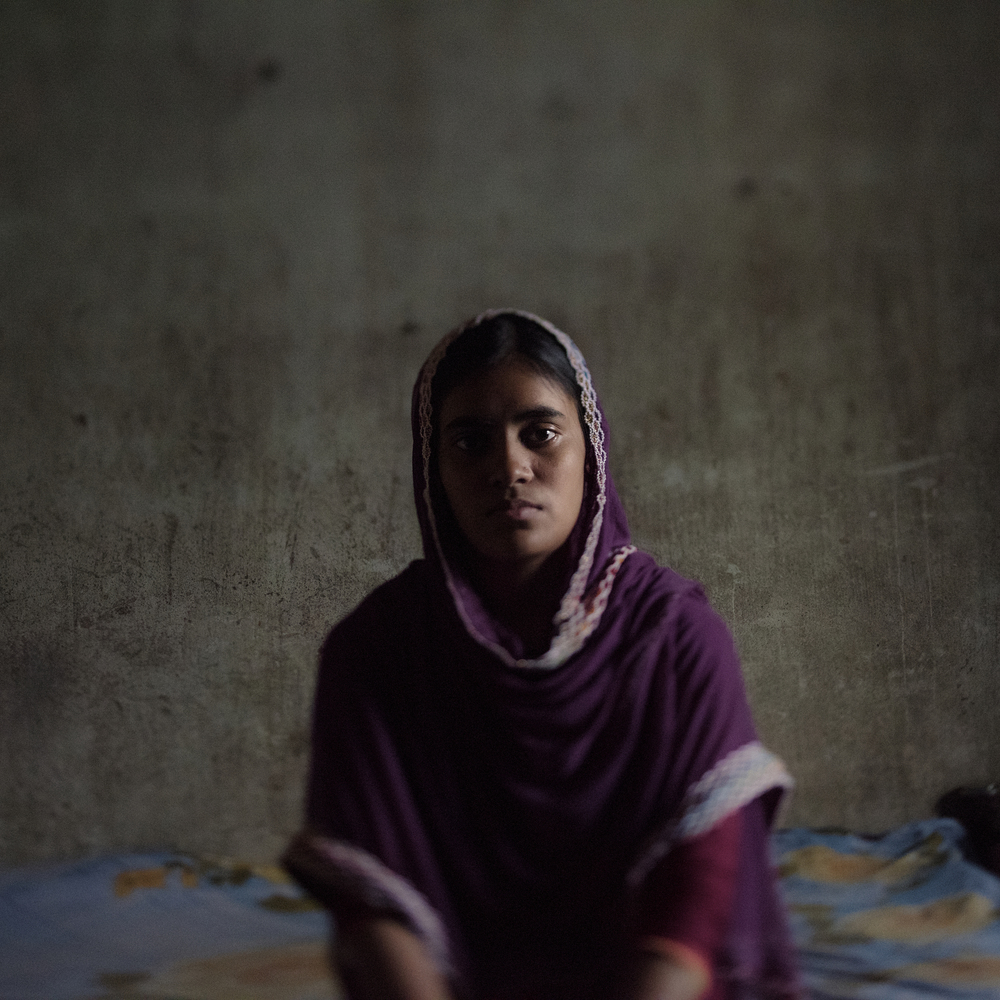 Despite the injuries she received when Rana Plaza collapsed, Taslima tries to lead a normal person's life.