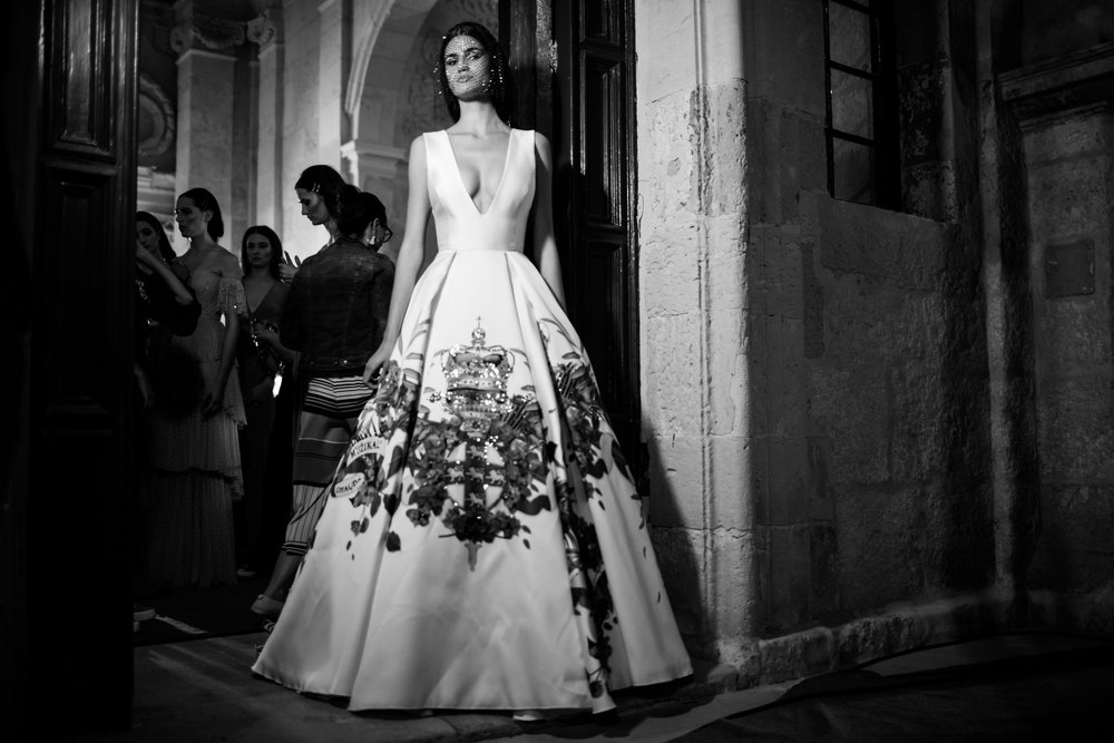 Jasongrech Backstage - Malta Fashion Week