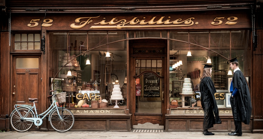 fitzbillies shopfront