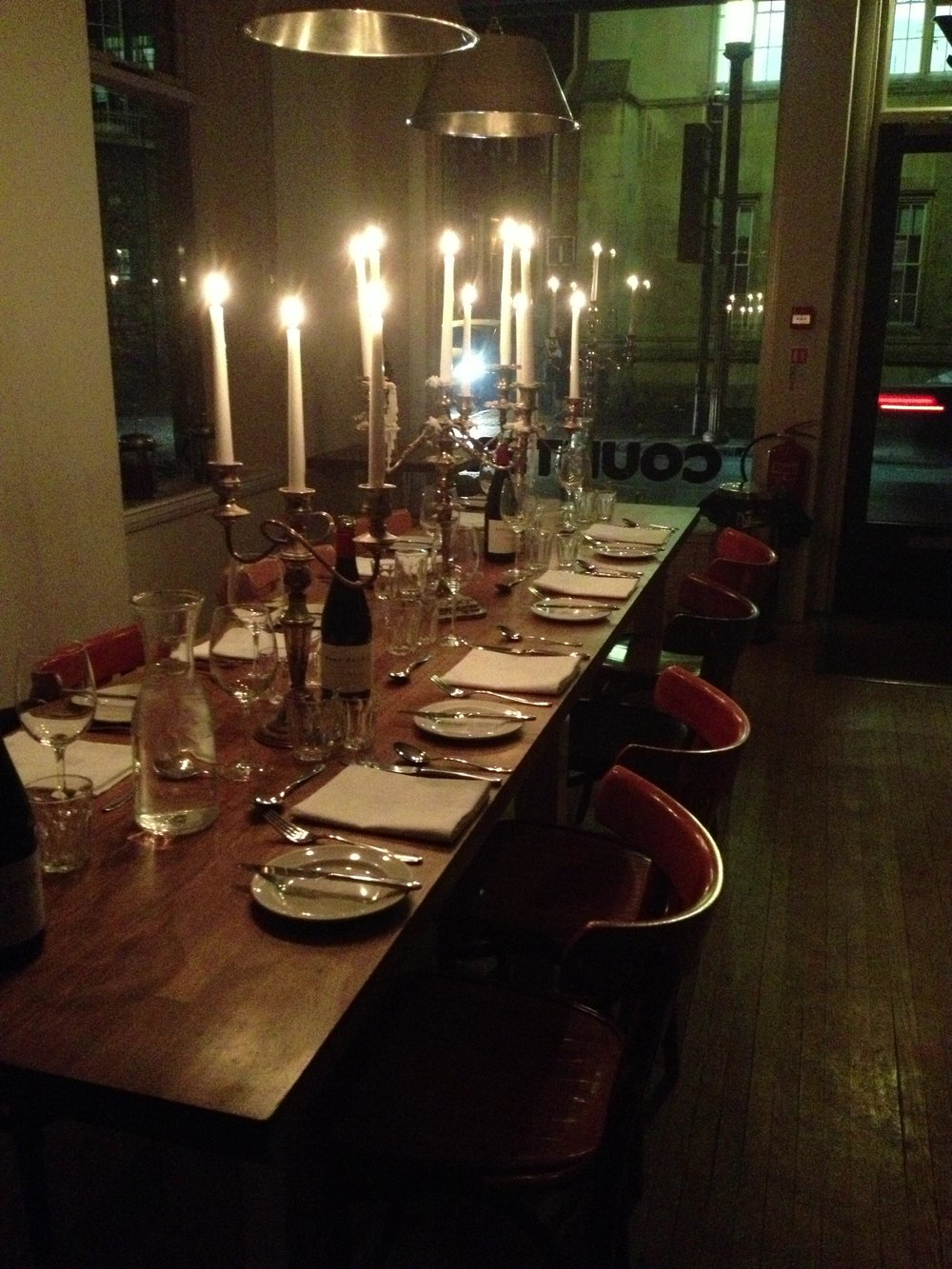 Table set for private dinner.JPG