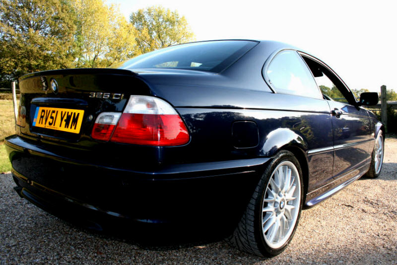 "BMW 325 CI  M SPORT ""It was a pleasure purchasing the M coupe from Sprint , I would not hesitate in recommending them to others"" Jason Beard , Ramsgate ."