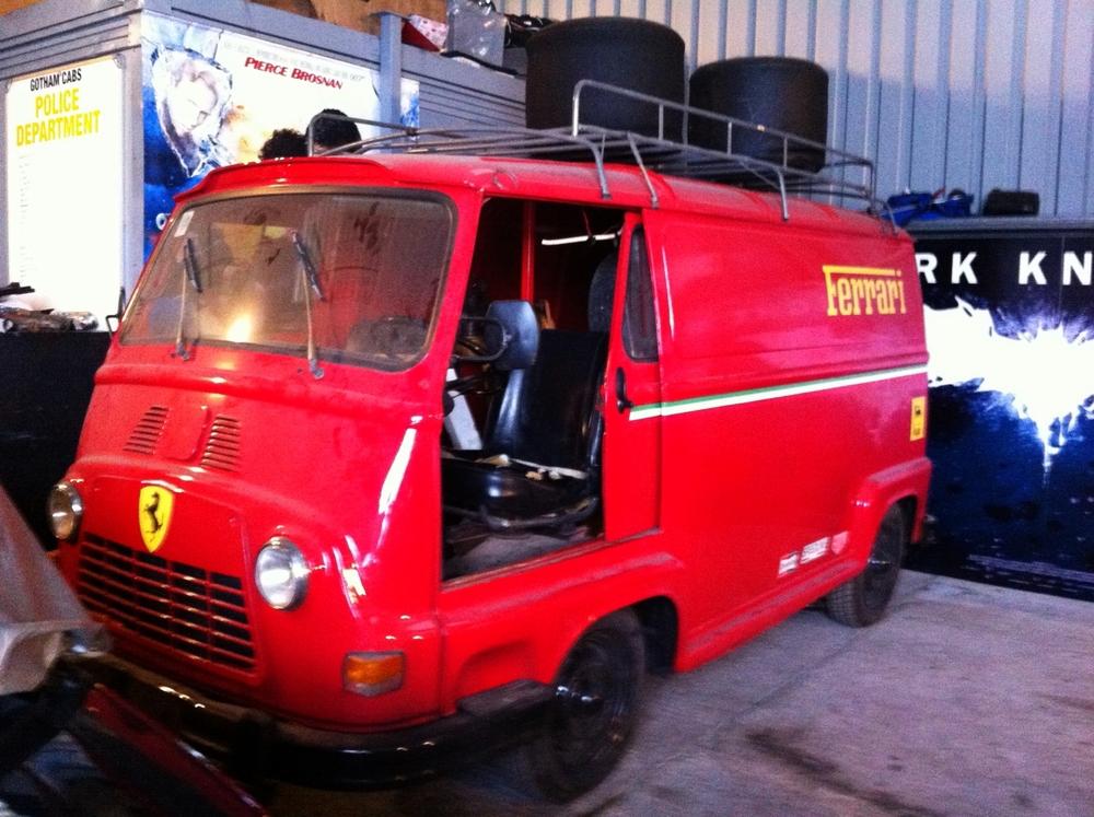 unusual find.. Ferrari team race van from the 2013 film - Rush