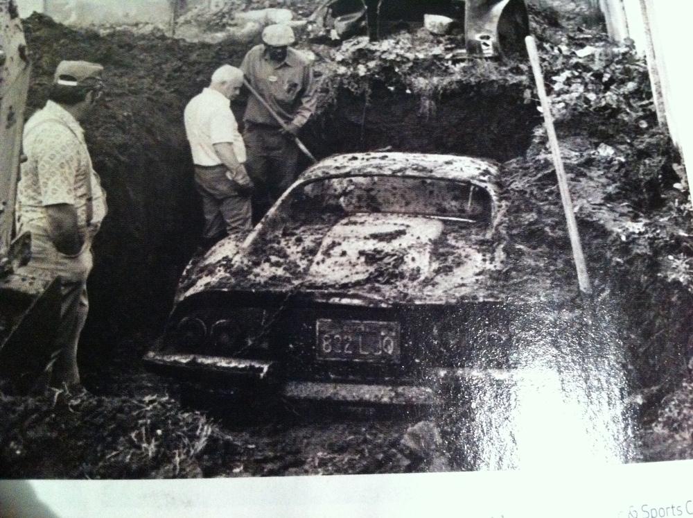 Ferrari Dino found buried in back garden...(not here unfortunately)