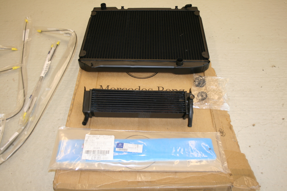 new radiator  heater matrix and airscoop dust filter