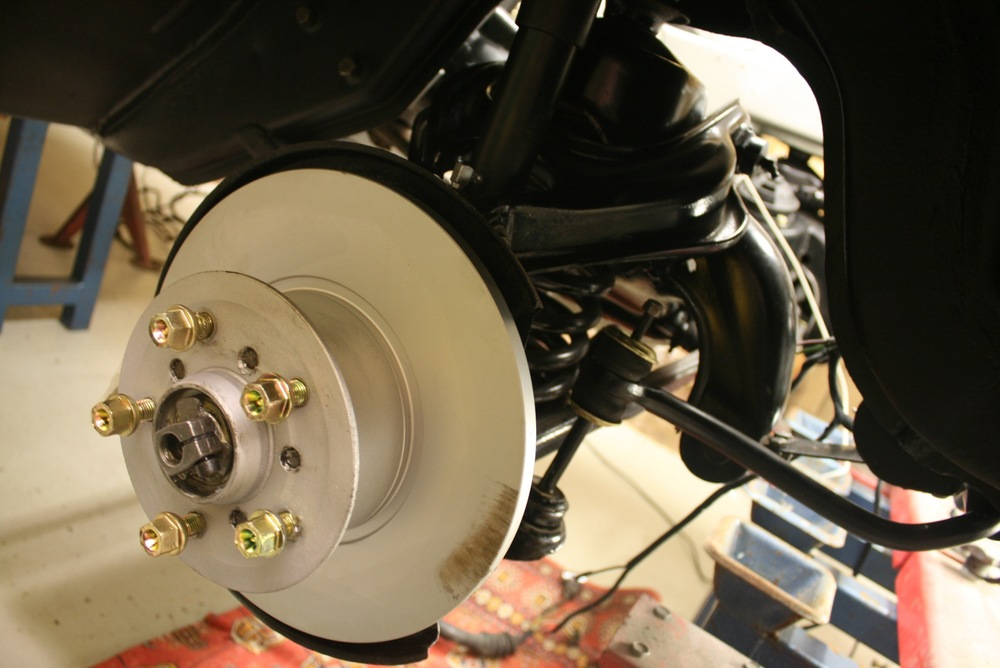all new braking system and more gold bolts !