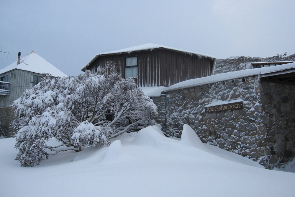 Winter White Ski Lodge