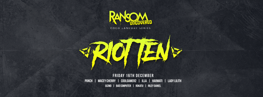 "RIOT TEN https://www.facebook.com/RiotTen/ https://soundcloud.com/riotten Born and raised in El Paso, Texas, Riot Ten (Chris Wilson) is exploding into the world of electronic dance music. Originating as a HipHop producer at the age of 15, his music has evolved into a unique blend of the Trap and Dubstep.  Featured on top music sites such as YourEDM, Trap City, Trap and Bass, Vibe Magazine, EDM Sauce, Trapstyle, Trap Sounds and more, Riot Ten is gaining momentum from coast to coast. He was recently featured on SiriusXM's ""Electric Area"", and also dropped a Quest mix for Annie Nightingale on BBC Radio 1. With original music out on Firepower Records, Buygore, and Elysian Records, Riot Ten's music has seen overwhelming support from the likes of A$AP Ferg, DJ Snake, Chainsmokers, Porter Robinson, Datsik, Flux Pavilion, Caked Up, Kennedy Jones, DJ 4B, D!rty Aud!o, Migos, Jayceeoh and many more. Join the movement as Riot Ten takes over the BASS scene. $20 Before 12am / Cheaper On A Guest List"
