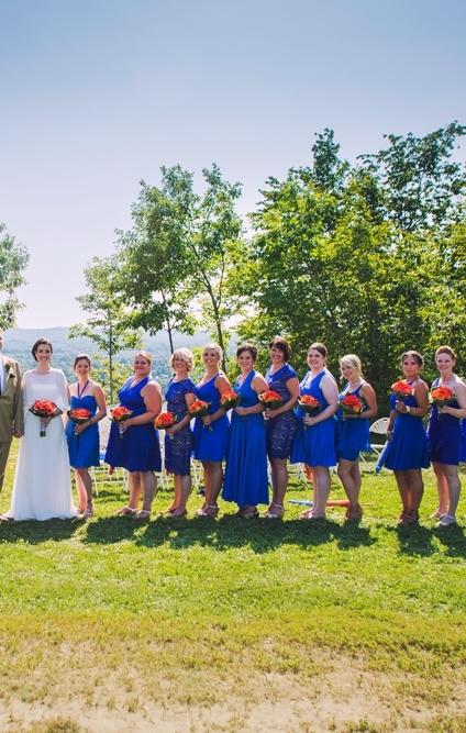 My girls at our 2014 wedding.
