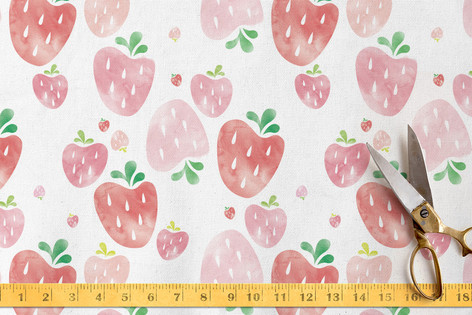 Strawberry Fields Fabric
