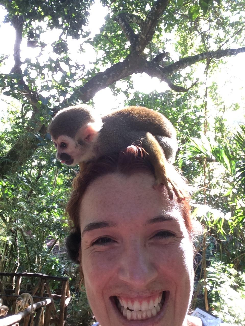 Monkey sanctuary, Puerto Plata, 2016.