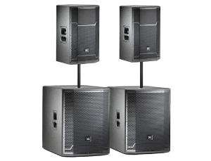 Copy of We only use JBL Professional speakers