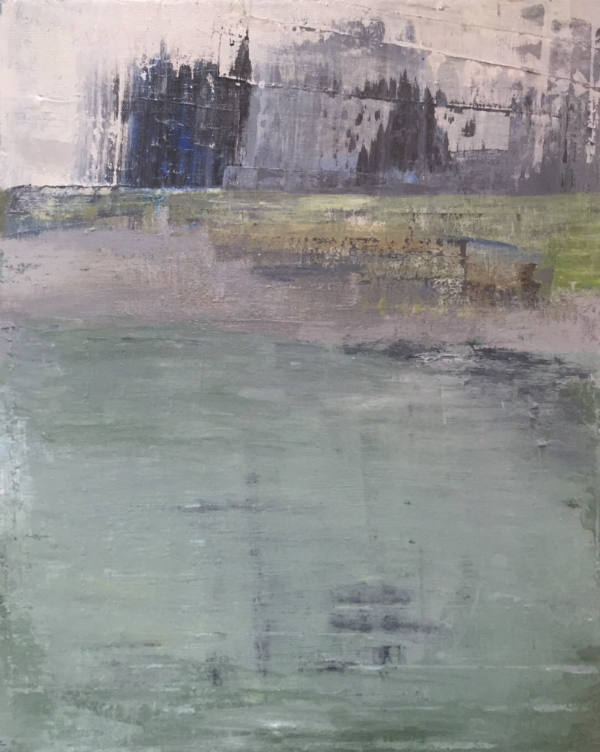 Castle 2015   Acrylic on Canvas 40x50cms
