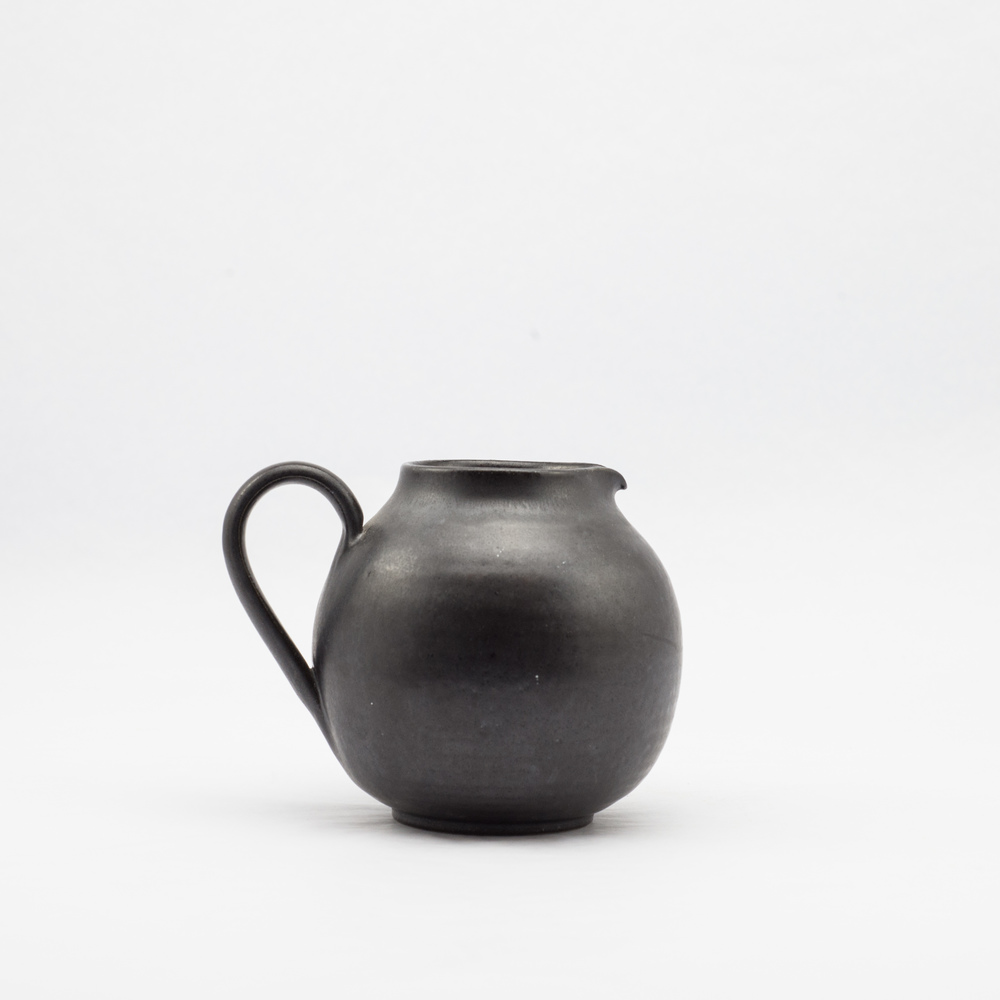 French Ceramic Black Creamer £16.00