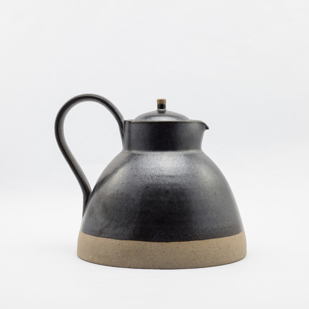 French Ceramic Black Teapot £49.00