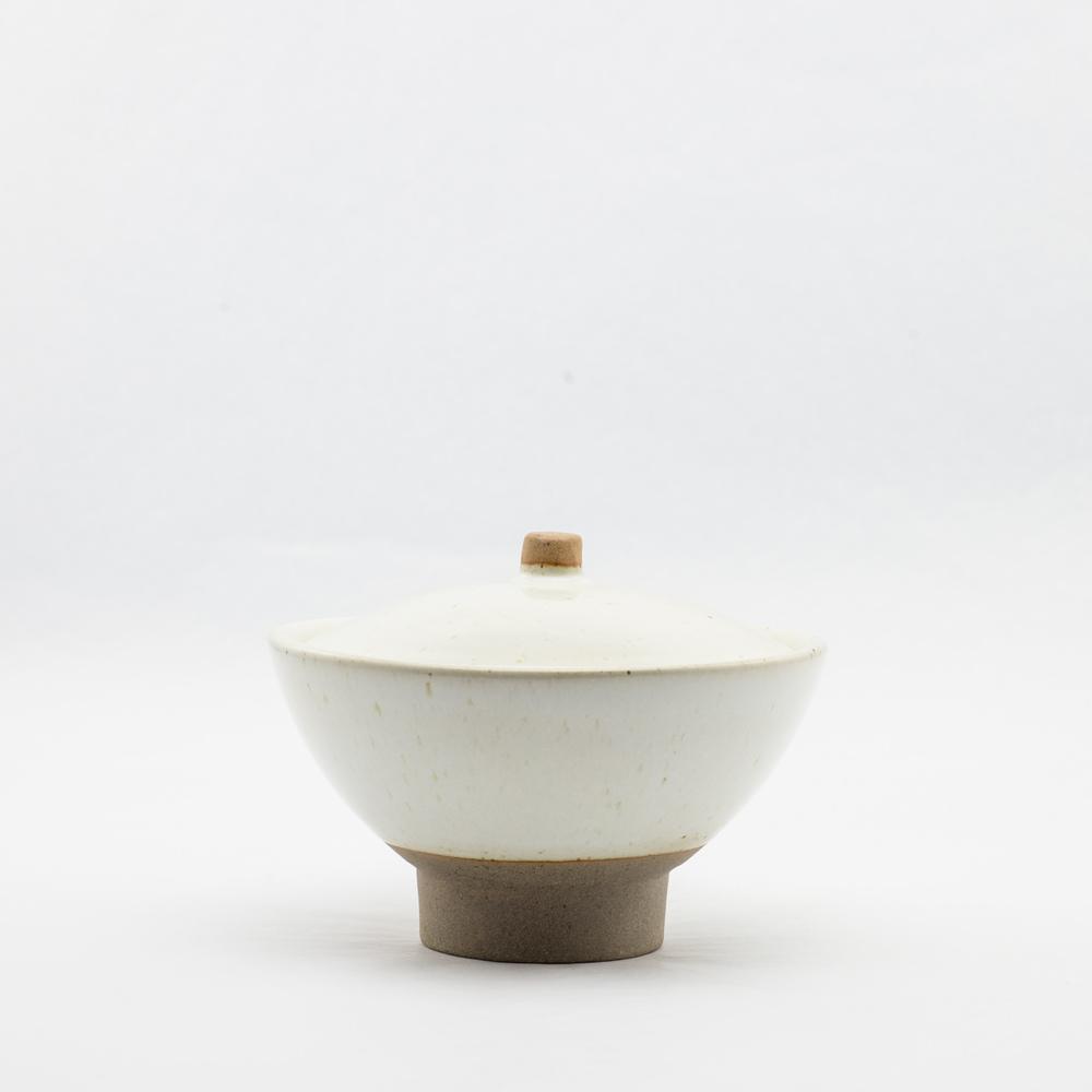 French Ceramic Ivory Sugar Pot £24.00
