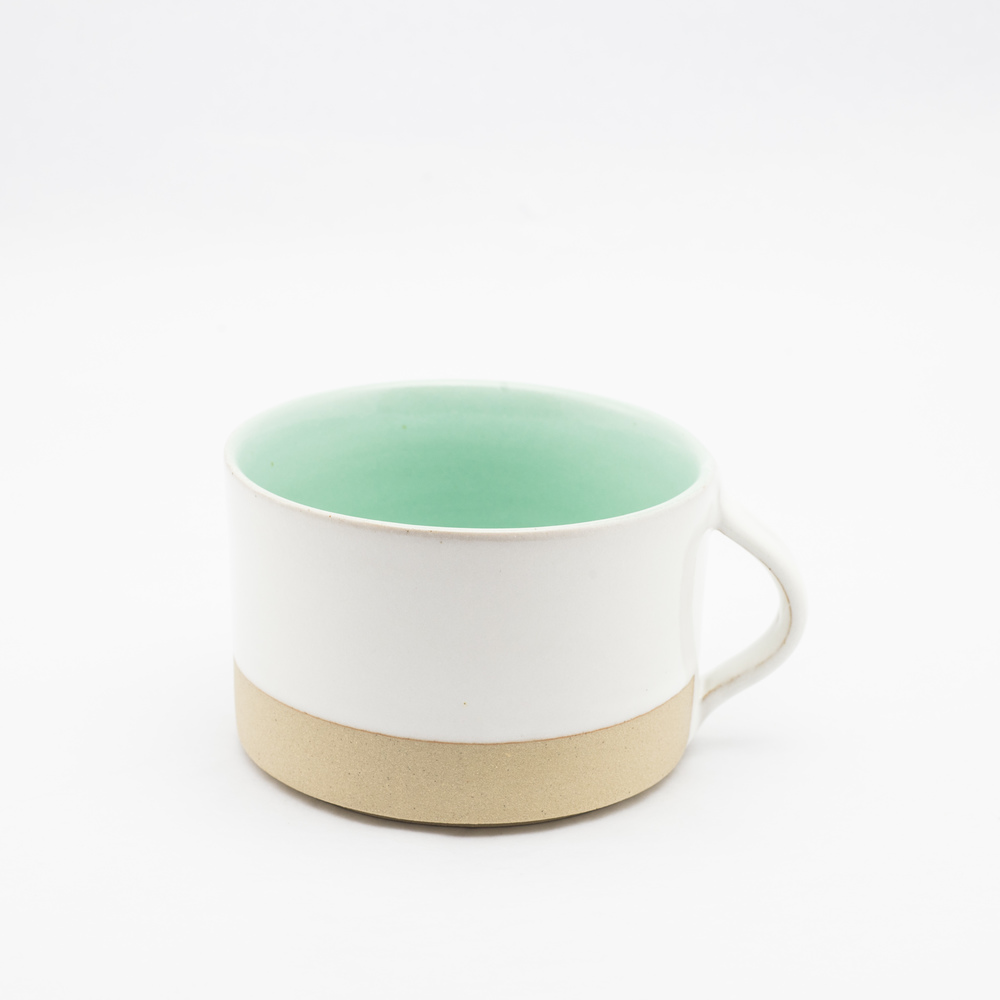 French Ceramic White Coffee Cup £18.00